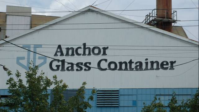 Anchor Glass Container Picture